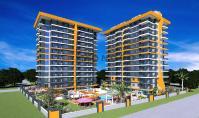 AL-409-2, Strandnahe Meerblick-Eigentumswohnung (3 Zimmer, 1 Bad) mit Balkon in Alanya-Mahmutlar