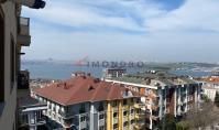 IS-518, Helle 130 m² 4-Zimmer-Wohnung mit Meer- und Seeblick in luxuriöser Wohnanlage mit Sauna & Fitnessraum in Istanbul Kücükcekmece