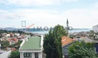 IS-615, Meerblick-Wohnung mit Balkon und Tiefgaragen-Parkplatz in Istanbul-Besiktas
