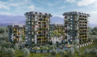 AL-479-3, Neubau-Eigentumswohnung (2 Zimmer, 1 Bad) mit Pool und Terrasse in Alanya-Avsallar