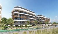 AL-610-2, Seniorenfreundliche Berg-Panorama-Eigentumswohnung (3 Zimmer, 2 Bäder) mit Mittelmeer-Blick in Alanya-Kestel
